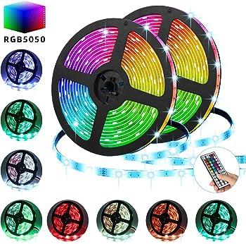 Tatufy 32.8-Foot RGB LED Strip Light