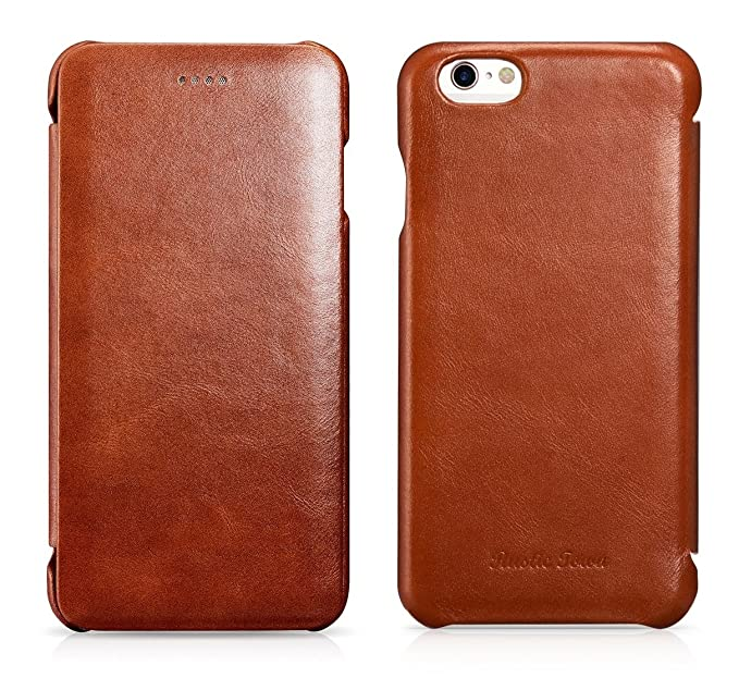 release date: 50382 1c6c7 Rustic Town iPhone 6S Plus Leather Case - Genuine Leather iPhone 6 Plus  Case - Vintage Folding Flip Case & Magnetic Closure - Slim Fit Cover for  Apple ...