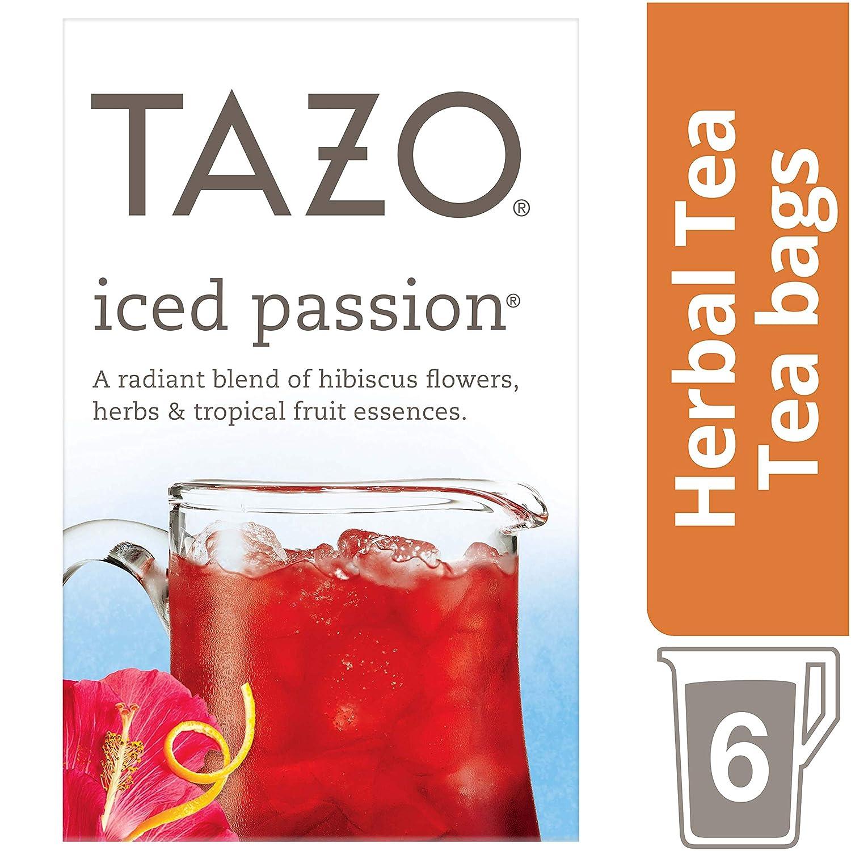 Tazo Passion Iced Tea - 6 ct