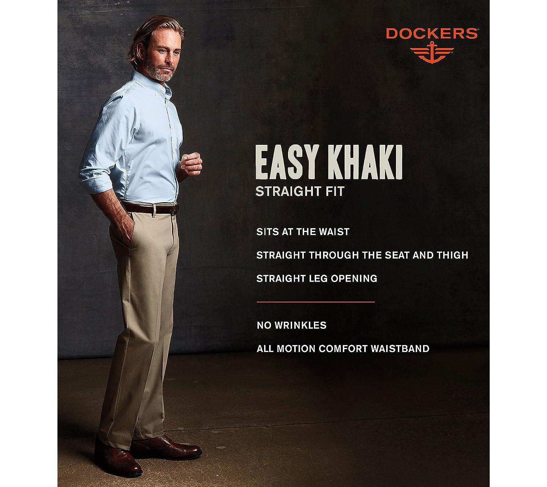 Dockers Mens Straight Fit Easy Khaki Pants D2