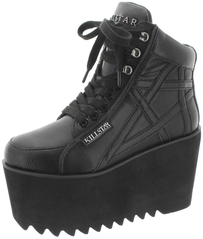 Killstar - Zapatillas de Material Sintético para mujer 39 EU|negro