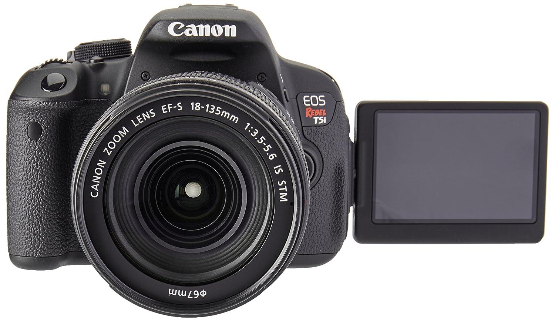 Canon EOS Rebel T5i + EF-S 18-135mm Juego de cámara SLR 18MP CMOS ...