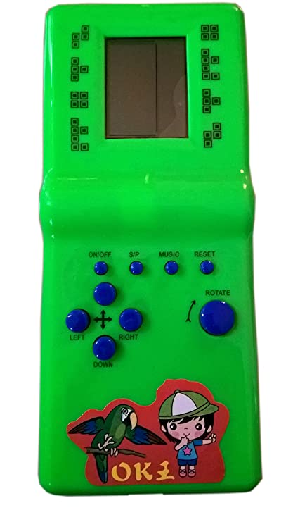 Rana Hand Held 9999 In 1 Battery Operated Brick Game Set For Kids Color May  Vary