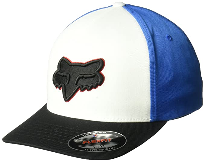 dec524c2f Fox Men's Epicycle Flexfit HAT, Optic White, S/M: Amazon.ca ...