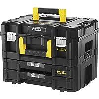 Stanley FatMax FMST1-71981 Gereedschapskoffer, inhoud 21,5 liter, met 2 laden en organizers, voor kleine onderdelen, met…