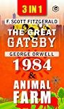 The Great Gatsby, Animal Farm & 1984 (3In1)