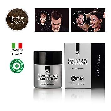 Amazon.com: K-Max 10 G BROWN MEDIUM Powder of Hair 100 ...