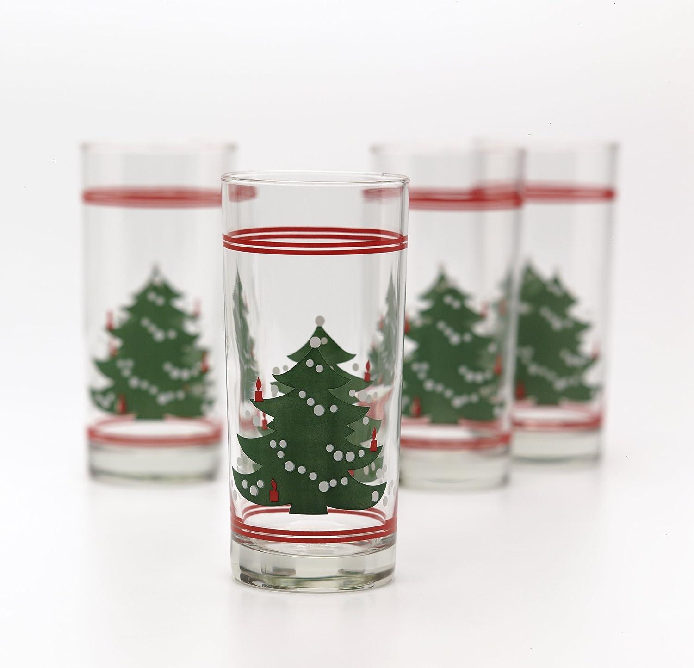 Waechtersbach Christmas Tree 15-Ounce Coolers, Set of 4 9020014070