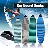 6'0''Surfboard Sock Cover 4 Colors Light Protective Stretch Sock Bag for your Surf Board Pointed Nose