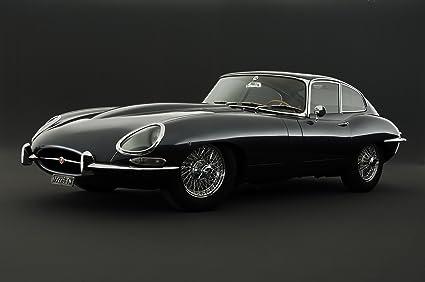 Jaguar E Type >> Jaguar E Type Poster Print A3 420x297mm Ja01a3
