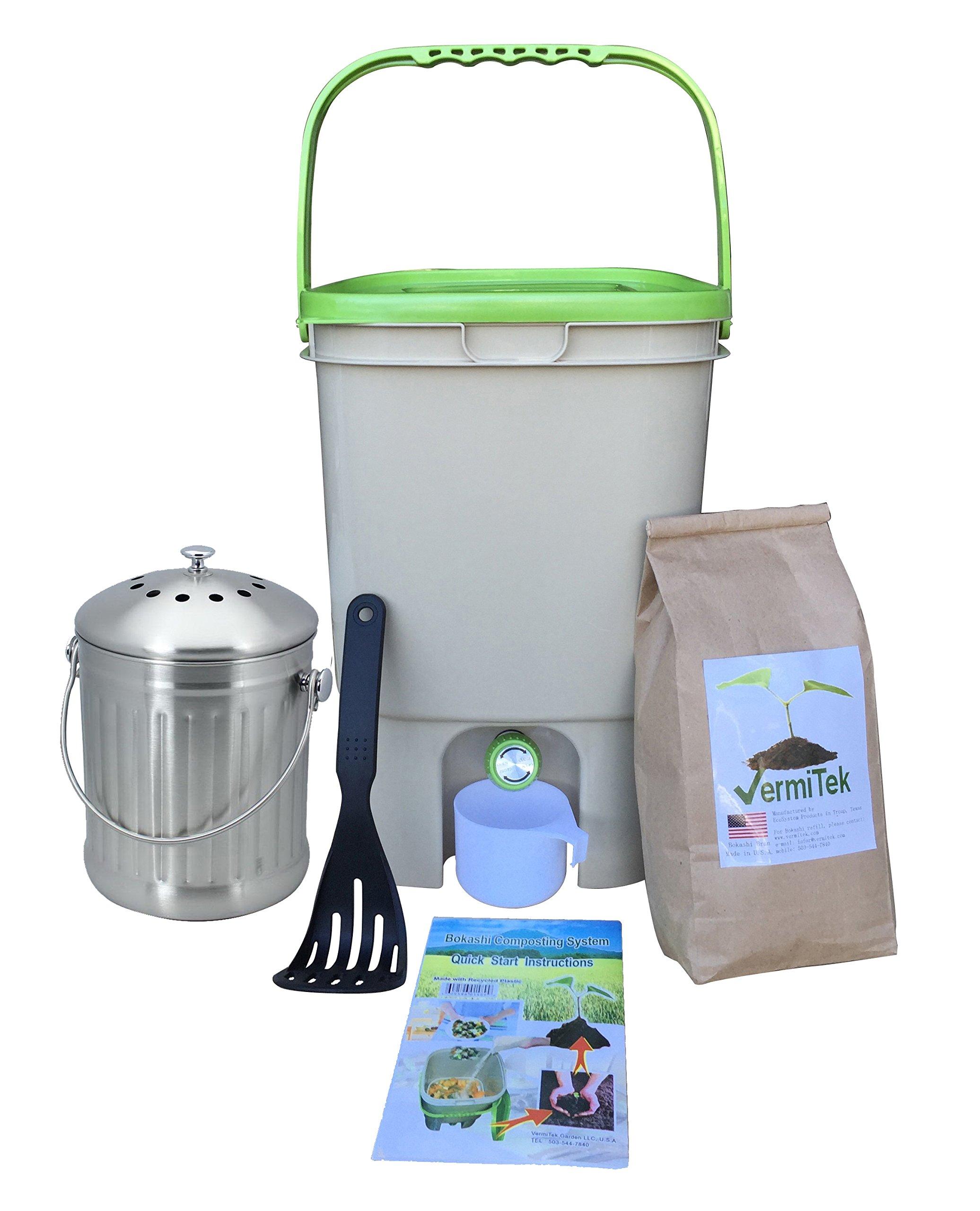 Vermikashi Bokashi Compost Kit Deluxe Model
