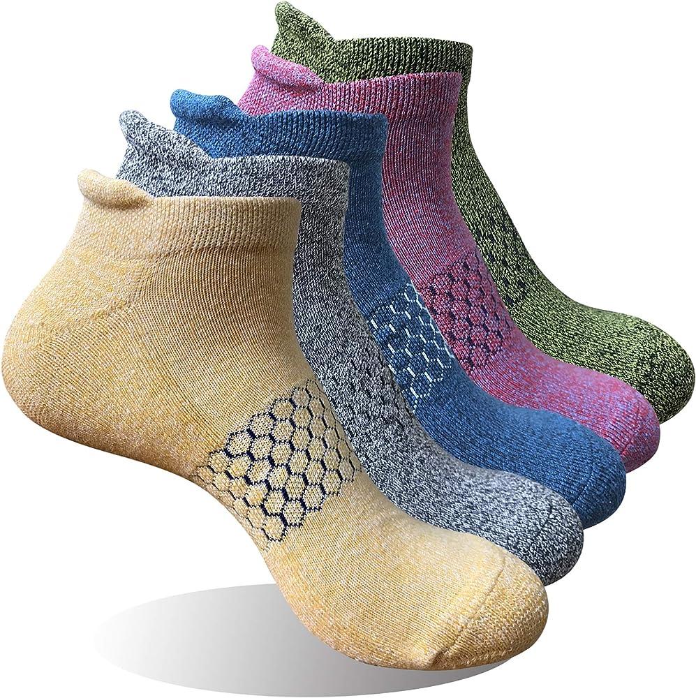 Winhot Womens Ankle Running Socks No