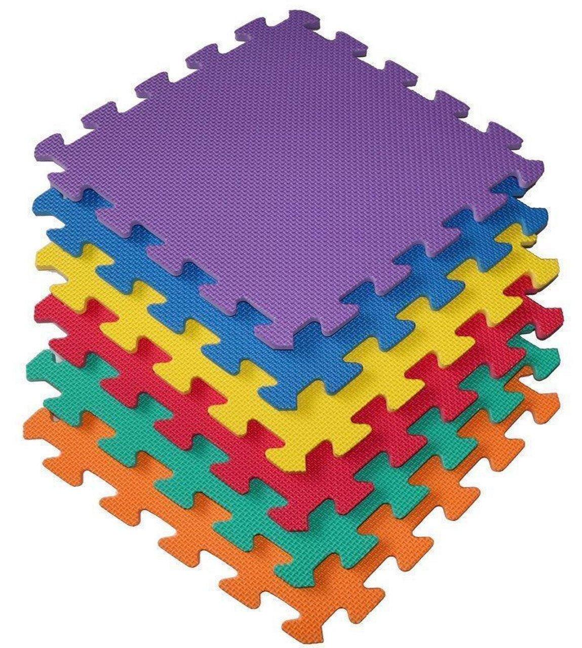 27 Piece Interlocking EVA Foam Activity Play Kids Baby Soft Mat Tiles Set Quickdraw QDS-101704