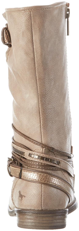 Mustang 1157 531, DamenLangschaft Stiefel, Braun (318 Taupe