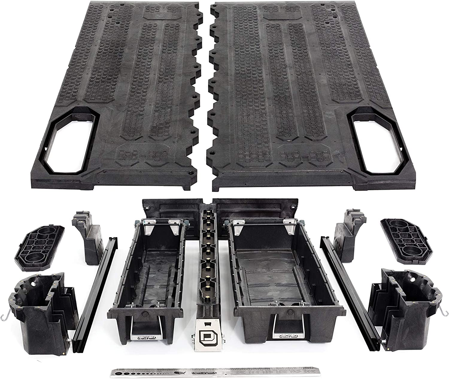 2015-current 6 2 bed length DECKED Pickup Truck Storage System for GMC Canyon /& Chevrolet Colorado