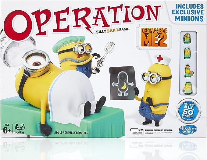 Hasbro Juegos Infantiles Operación GRU, mi Villano Favorito (versión en inglés): Amazon.es: Juguetes y juegos