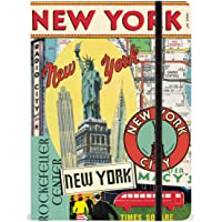 Cavallini 6 by 8-Inch Vintage New York Notebook, 144 Pages