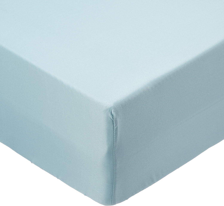 Soleil docre Lenzuolo con Angoli in Cotone 90 x 190 cm Tinta Unita Bianco