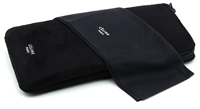 f66676e4f253 New Original Celine Sunglasses Eyeglasses Case - Black -  Amazon.co.uk   Clothing