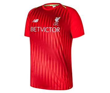 outlet store 62ae7 d6df5 Amazon.com : New Balance 2018-2019 Liverpool Elite Pre-Match ...