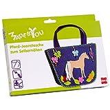 Made By You 13008 - Jeanstasche Pferd zum Selbernähen