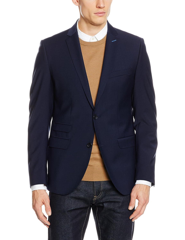 Le Dernier Pas Cher En Ligne À Prix Abordable Butch - Blazer - Uni - Homme - Bleu (016) - FR : 50 (Taille fabricant : 48)Tommy Hilfiger Tailored Vente Excellente a6ExijNia