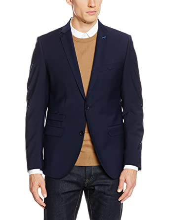 Club of Gents AMF-Cliff SS, Vestes de Costume Homme, (90), FR: 46 (Taille Fabricant: 44)