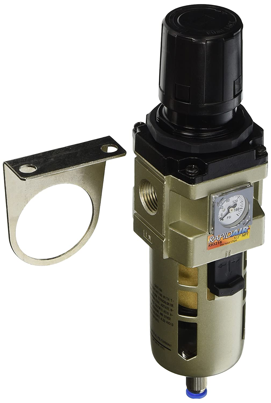 Rapidair K93217 NPT Filter Regulator, 3/4-Inch Rapid Air