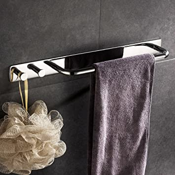 Lolypot Handtuchringe Handtuchhalter Handtuchstange ohne bohren mit ...