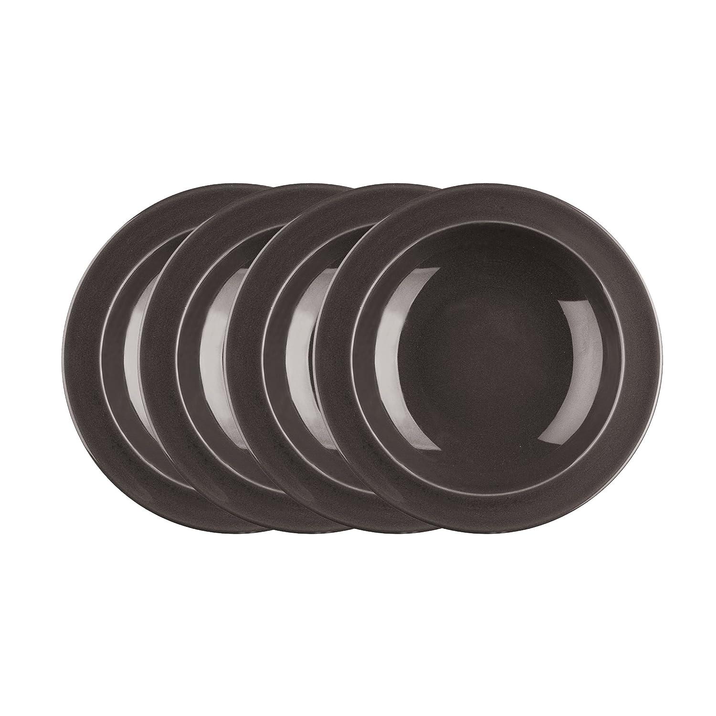 Emile Henry 9-inch Soup/Pasta Bowls, Set of 4, Slate 798871/4