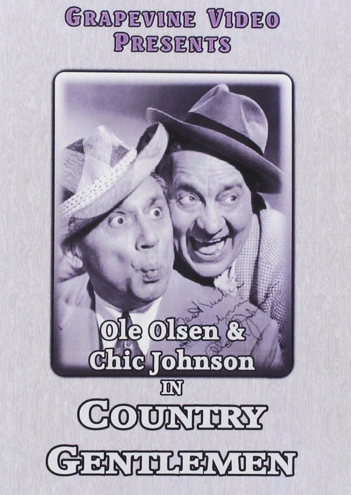 DVD : Country Gentlemen (DVD)