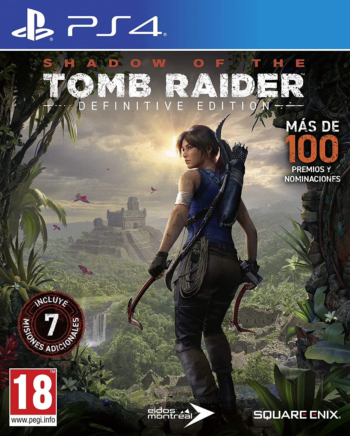 Shadow of The Tomb Raider Definitive Edition: Amazon.es: Videojuegos