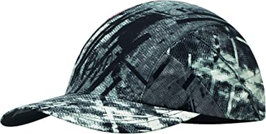 Buff R-City Visor Gorra de Correr, Unisex Adulto, Gris (Jungle Grey ...