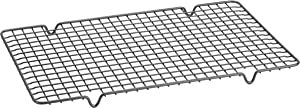 Anolon Advanced Nonstick Bakeware Cooling Grid/ Baking Rack- 10 Inch x 16 Inch, Gray