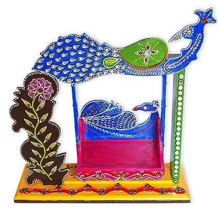 Amazon Com Ritwika S Indian Decorative Baby Krishna Jhula