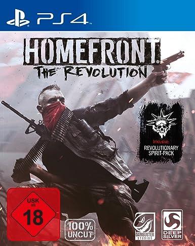 Deep Silver Homefront: The Revolution Day One Edition (PS4) PlayStation 4 Alemán vídeo - Juego (PlayStation 4, FPS (Disparos en primera persona), Modo multijugador, M (Maduro)): Amazon.es: Videojuegos