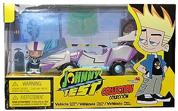 Caillou ID02665 Johnny Test Turbo - Mochila para Coche: Amazon.es: Juguetes y juegos