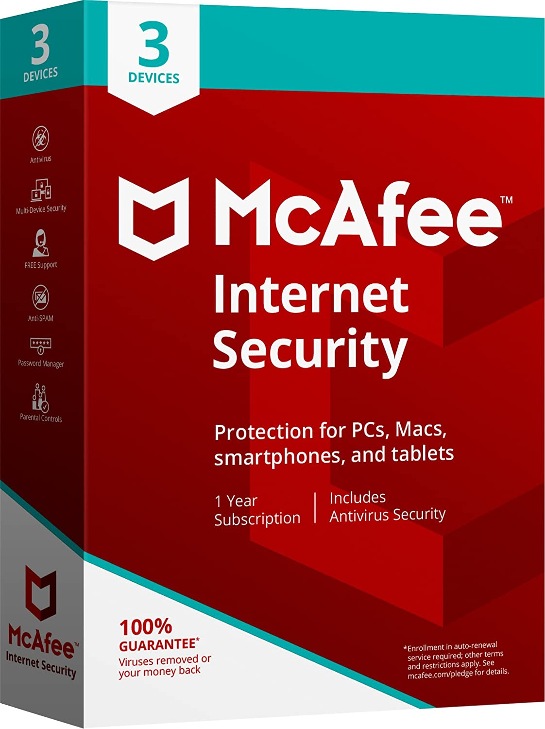 McAfee 2018 Internet Security - 3 Devices
