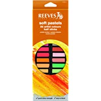 Giz Pastel Seco Reeves Curto 32 Cores