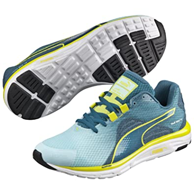 Puma Women's Faas 500 v4 Wn Clearwater, Blue Coral and Sulphur Spring Mesh  Running Shoes - 4 UK/India (37 EU): Amazon.in: Shoes & Handbags