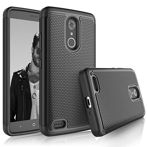 the best attitude 04822 2b9e0 Tekcoo ZTE Max XL Case, Tekcoo ZTE Max XL Sturdy Cover, [Tmajor] Shock  Absorbing [Jet Black] Rubber Silicone & Plastic Scratch Resistant Defender  ...