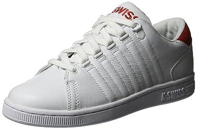 175ea118de2 Amazon.com | K-Swiss Lozan III Tongue Twister Mens White | Fashion Sneakers