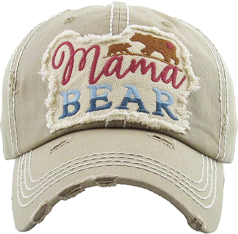 Women's Mama Bear Washed...