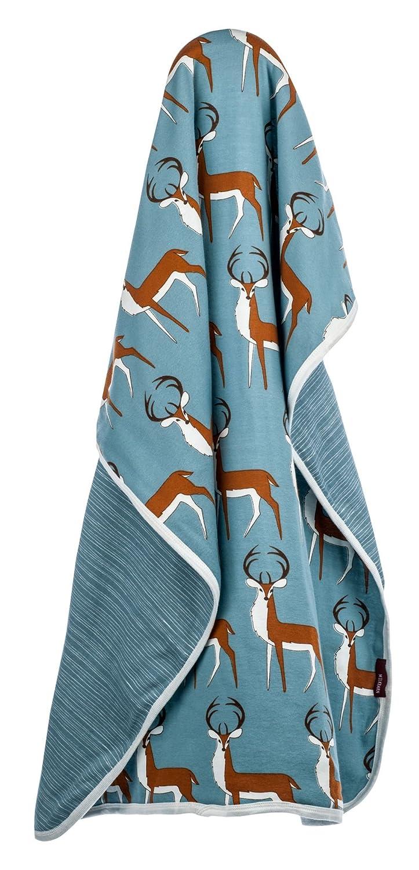 Milkbarn Baby/Infant Organic Stroller Blanket'Lavender Hedgehog' 25-0048-00
