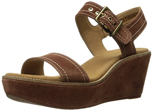 930e328f9a45 Clarks Women s Aisley Orchid Wedge Sandal  Buy Online at Low Prices ...