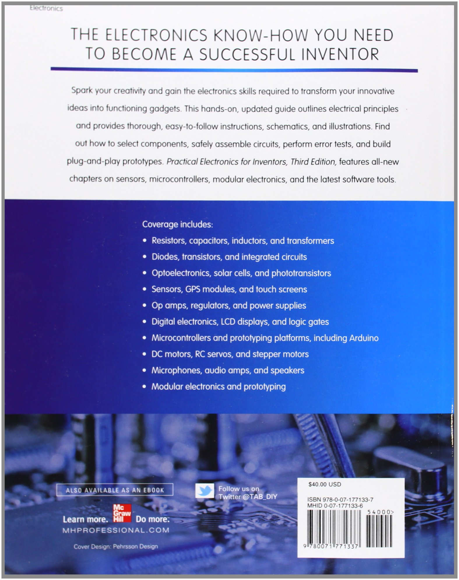 Pdf practical electronics for inventors, third edition.