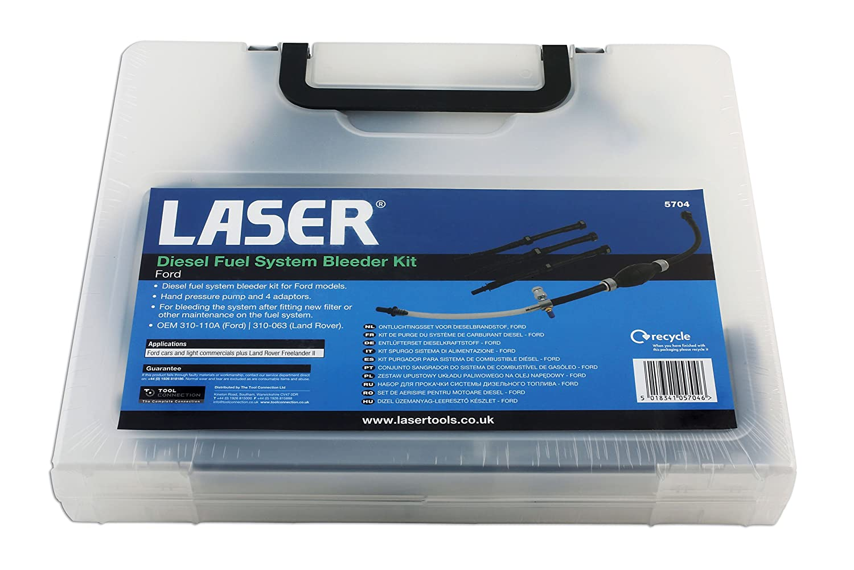 Amazon.com: Laser - 5704 Diesel Fuel System Bleeder Kit - Ford: Automotive