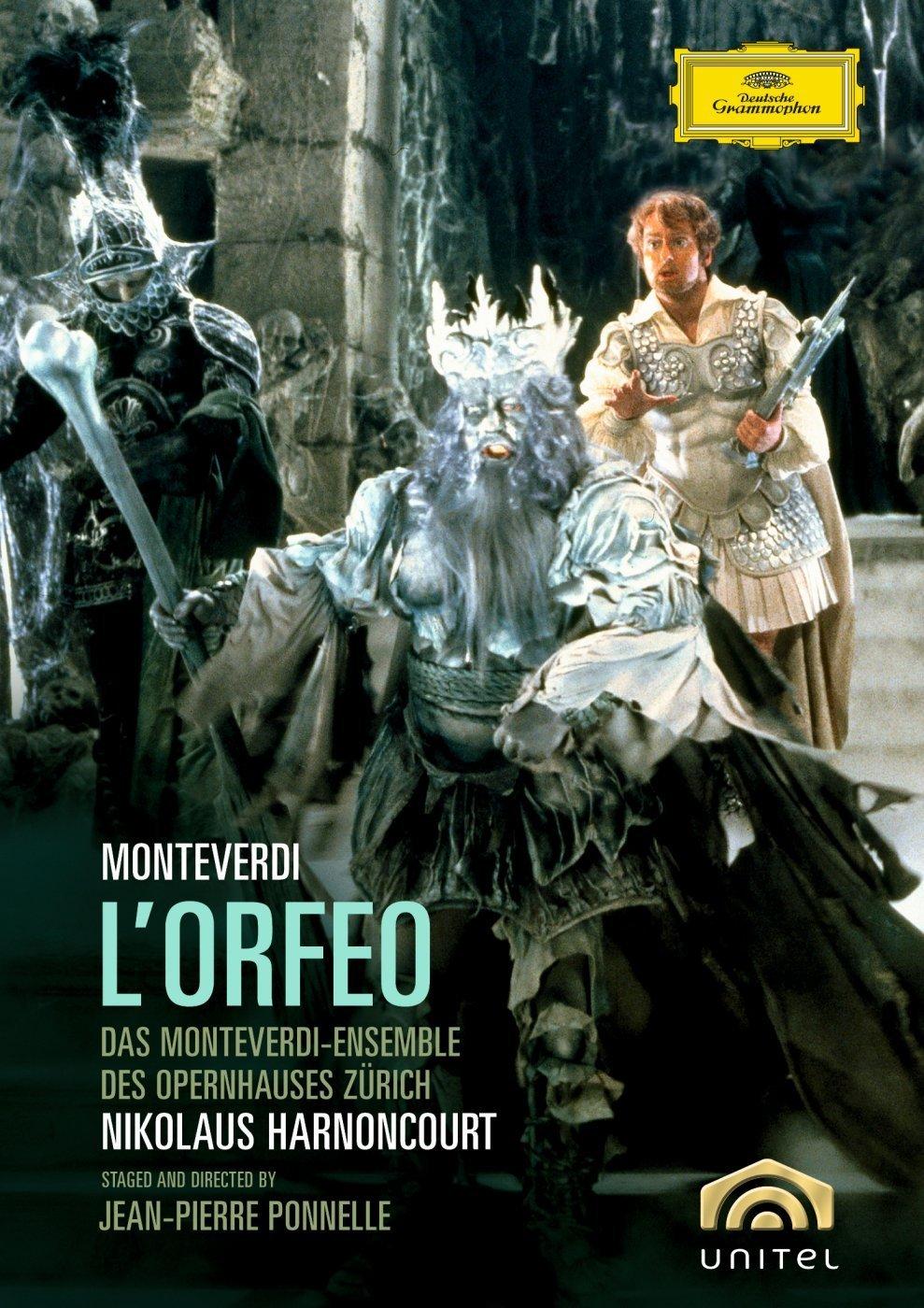 DVD : Nikolaus Harnoncourt - L'orfeo (Subtitled)