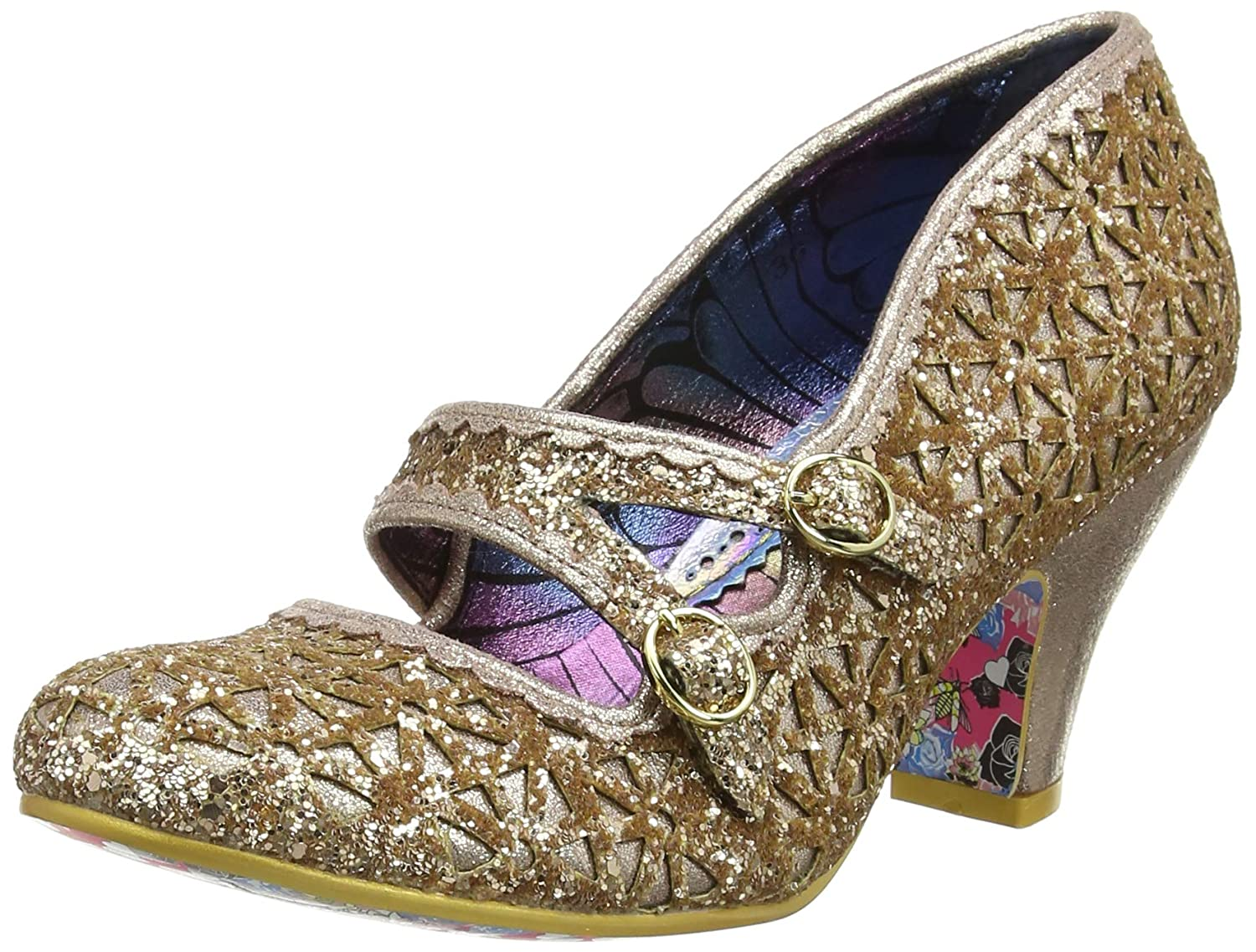 Or (or C) Irregular Choice Dazzle Dance, Mary Janes Femme 40 EU