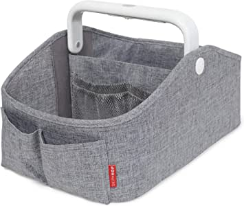 Skip Hop Light Up Diaper Caddy, Grey